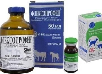 От чего помогает Флексопрофен для кошек и как его использовать?